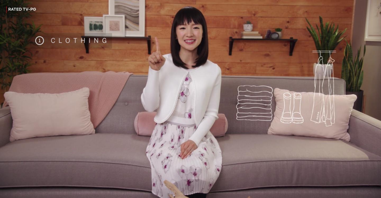 Cómo la serie de Marie Kondo en Netflix llegó para mejorar tu vida