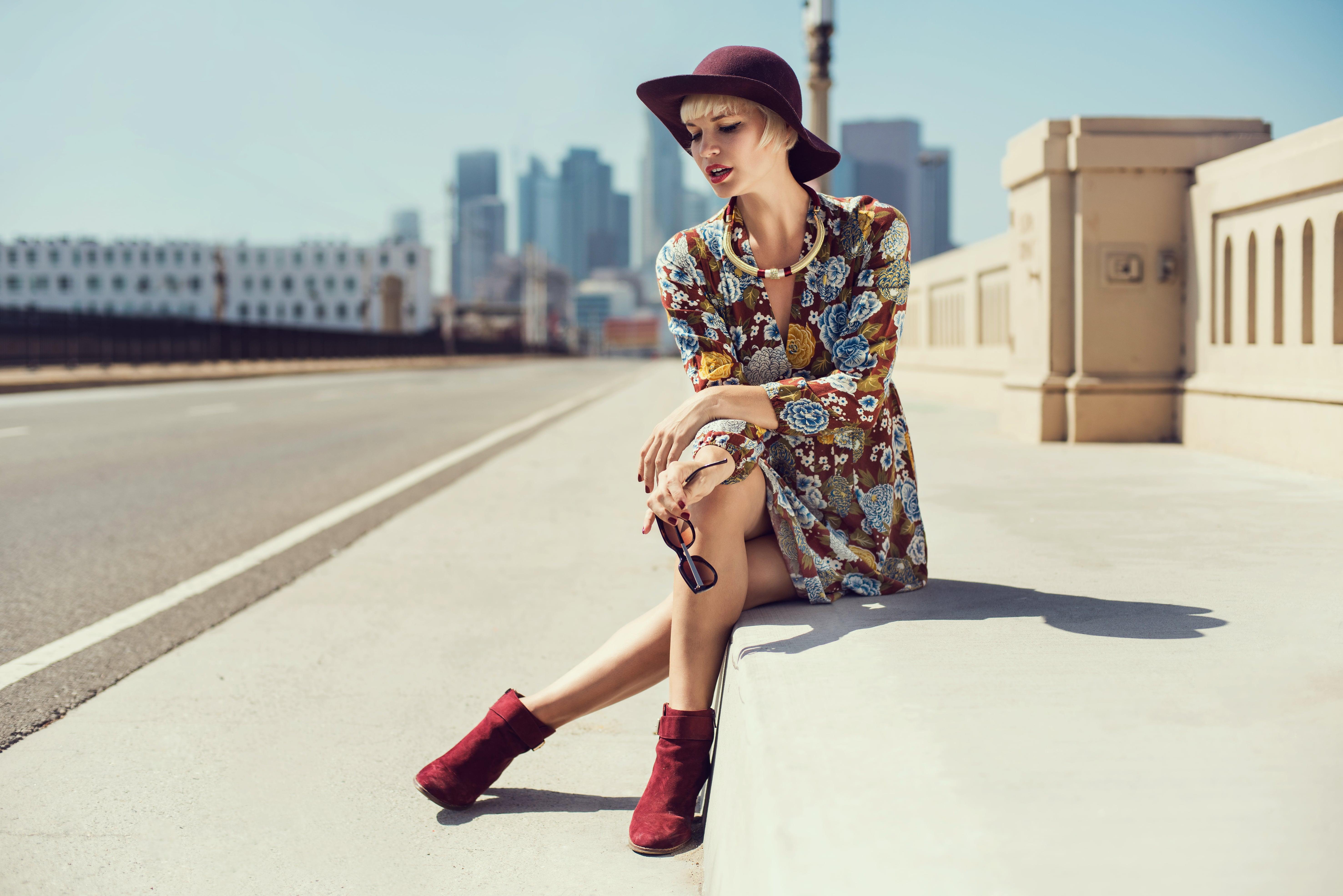Ideas para lucir un outfit floral