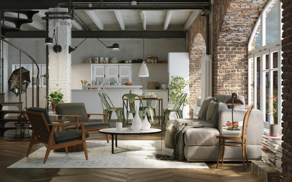 Decora tu apartamento con el estilo industrial