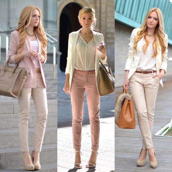 Moda neutral: usa beige