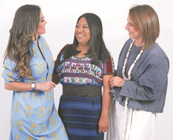 Tres mujeres que trabajan para empoderar a otras mujeres
