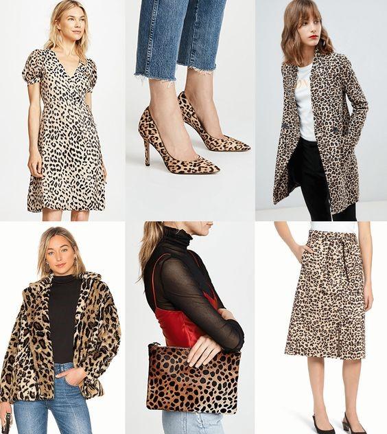 Ideas para combinar prendas animal print