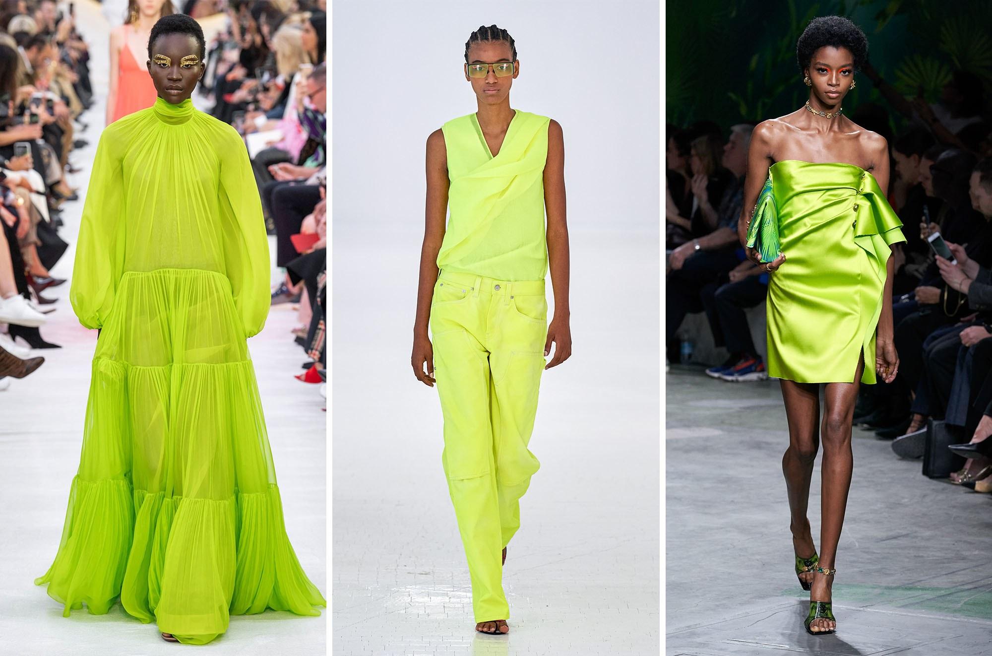 Los cítricos y tonos vibrantes para el verano 2020