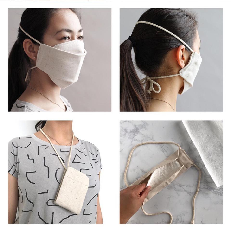 Más de 30 marcas de moda que vuelven para hacer elegantes máscaras de coronavirus