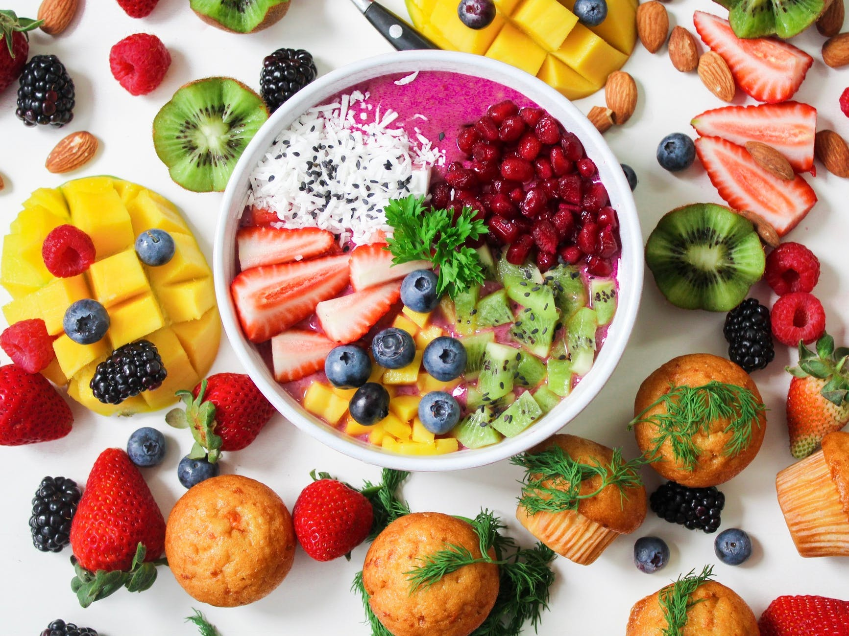 Cuatro snacks saludables fáciles de preparar