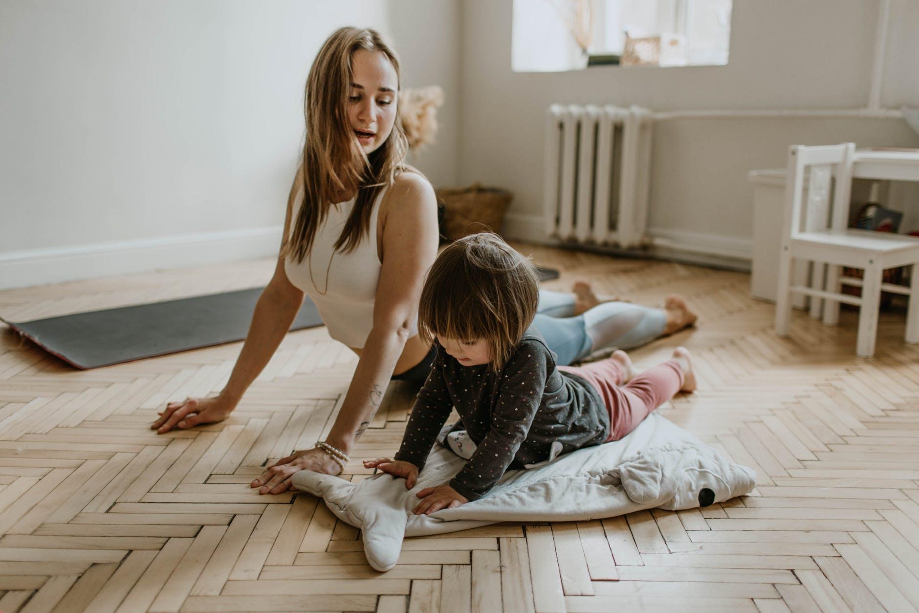 Cinco ejercicios para realizar en casa