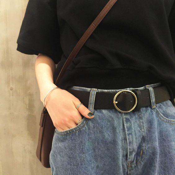 Cómo combinar un cinturón para lucir más delgada