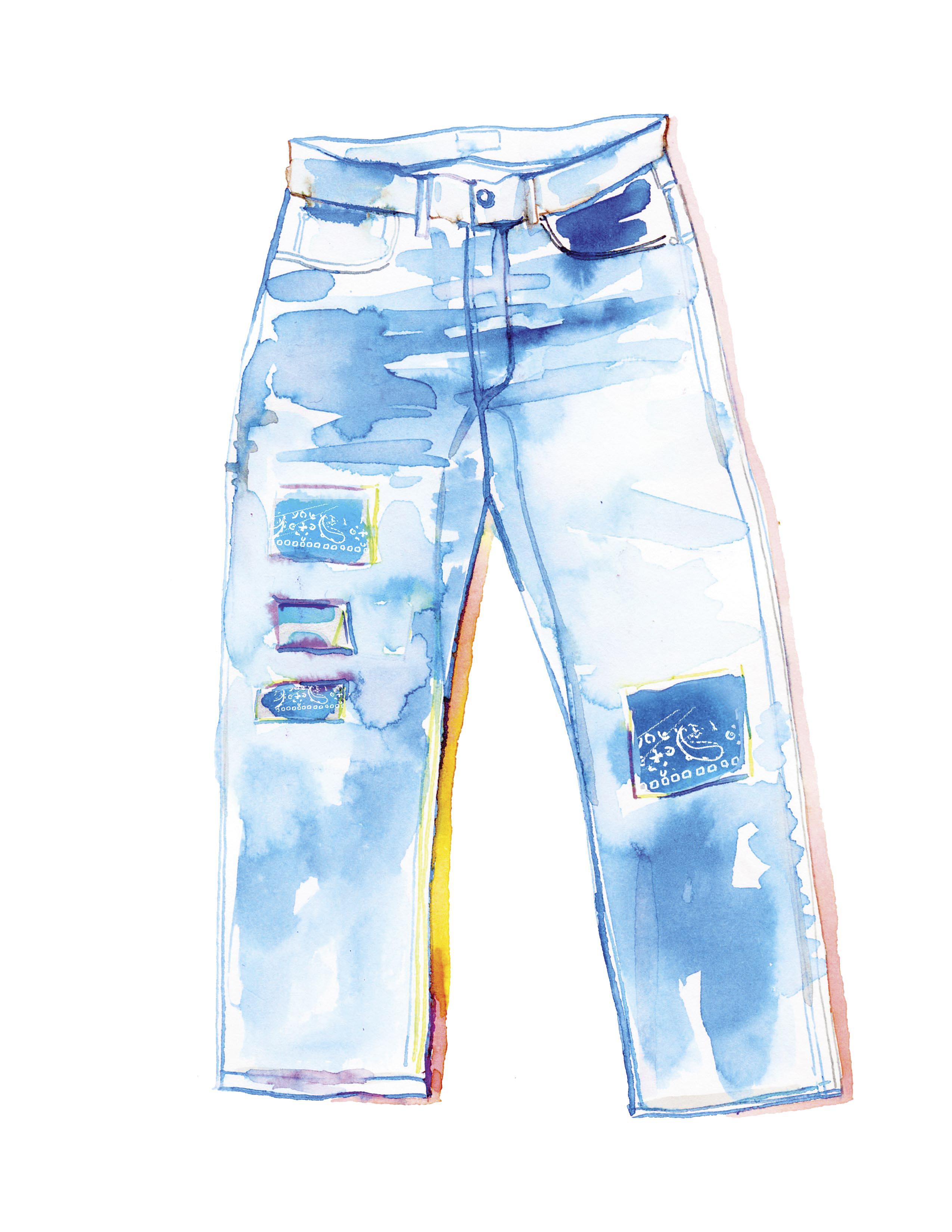 Todd Snyder nos dice cómo añadir parches a nuestros pantalones de mezclilla
