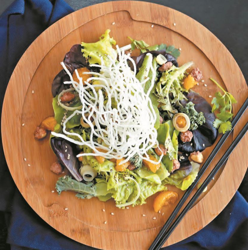 Comida saludable: Prepara una deliciosa ensalada oriental