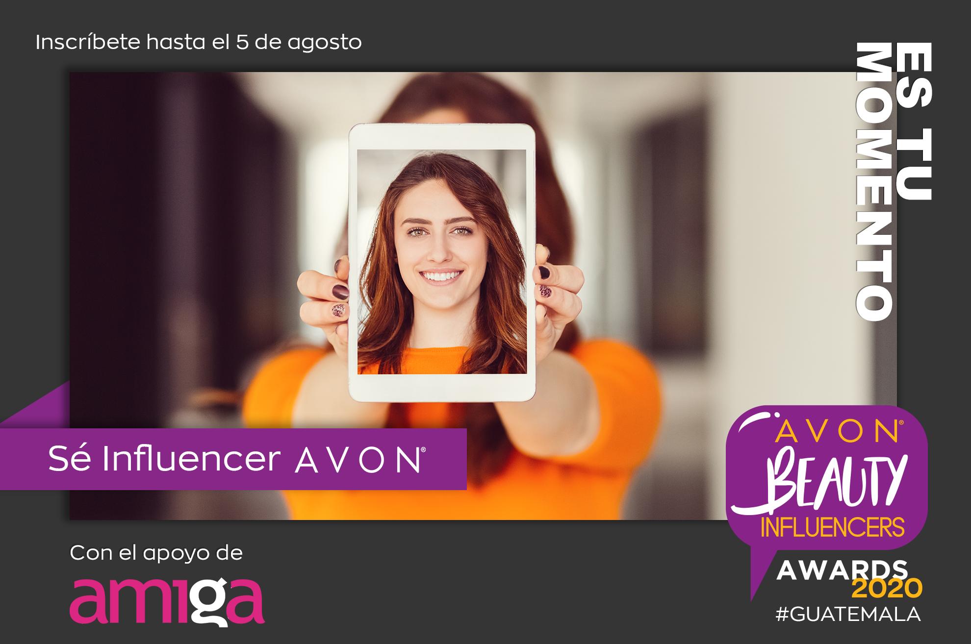 ¡Puedes ser la nueva influencer de Avon!
