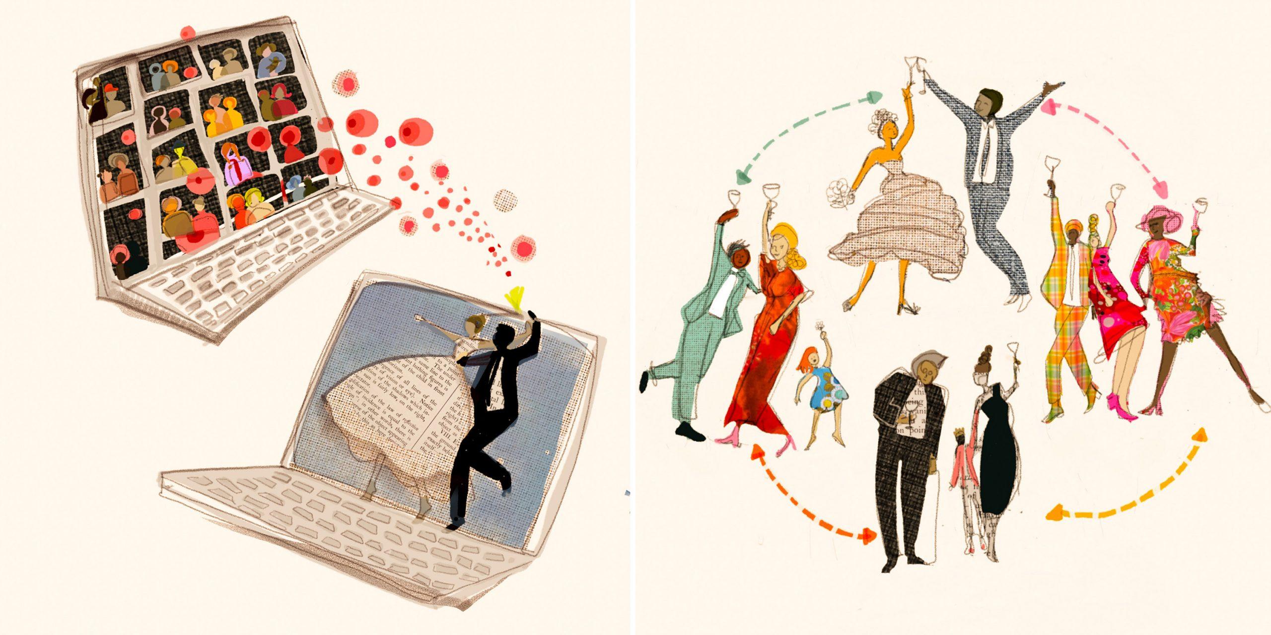 ¿Qué pasará con las bodas?