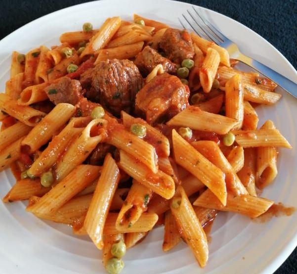 Prepara una deliciosa pasta mediterránea
