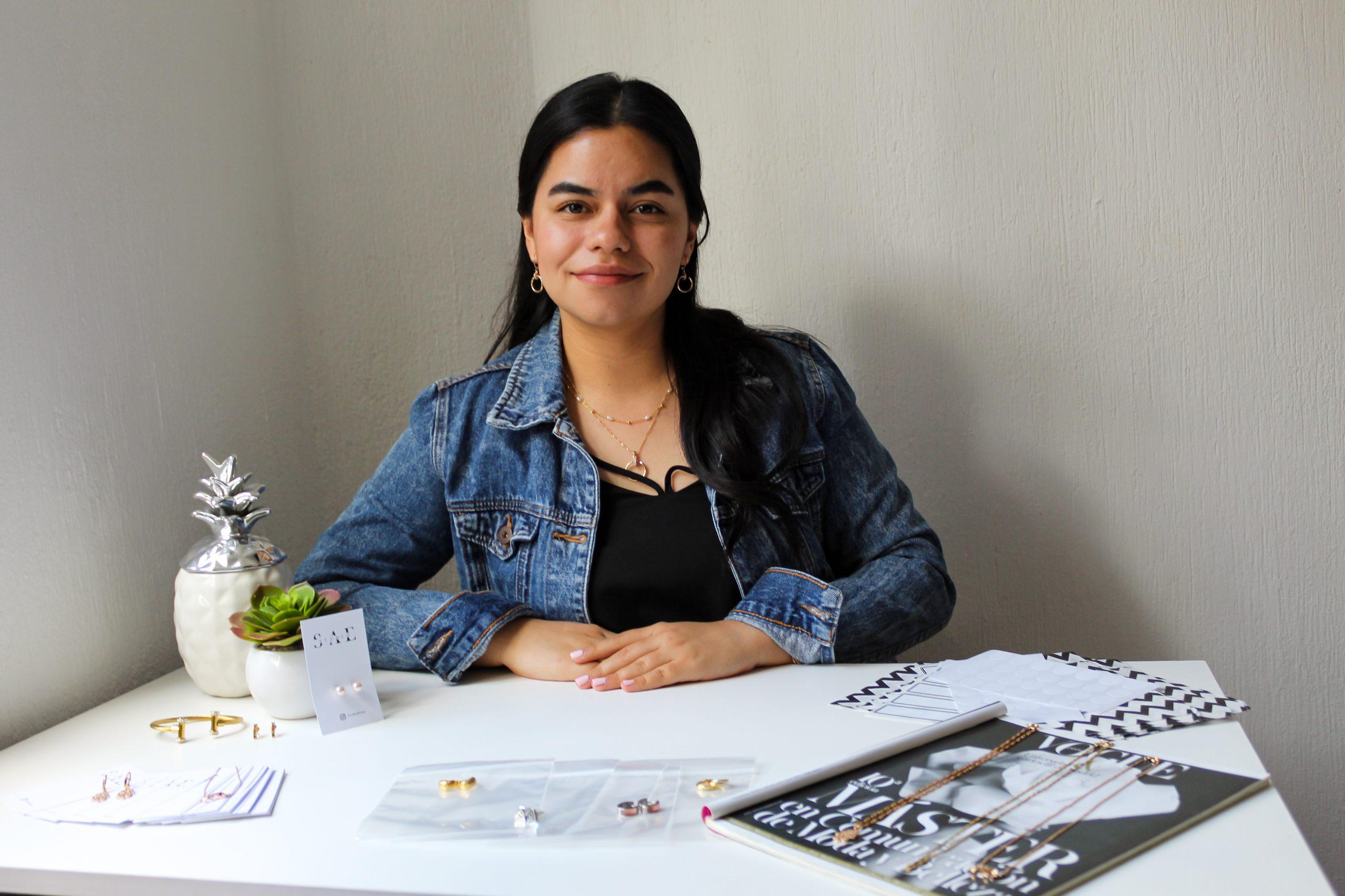 Sofía De Mata, emprendedora y  creadora de la marca Sae Studio