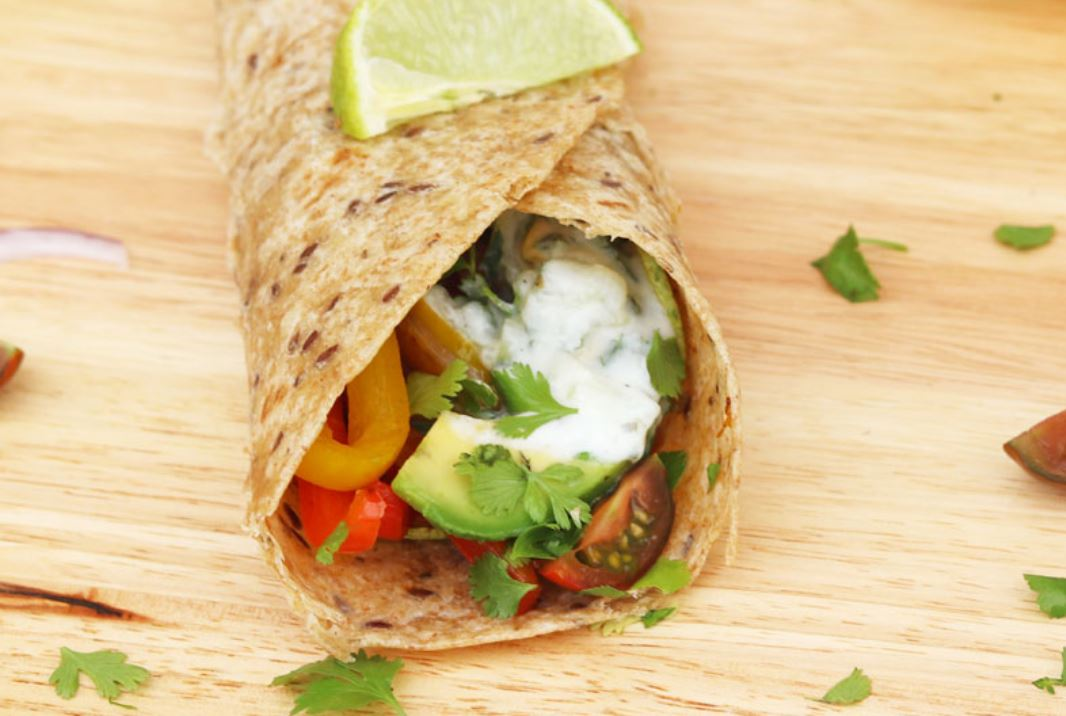 Tacos de verdura para preparar en casa
