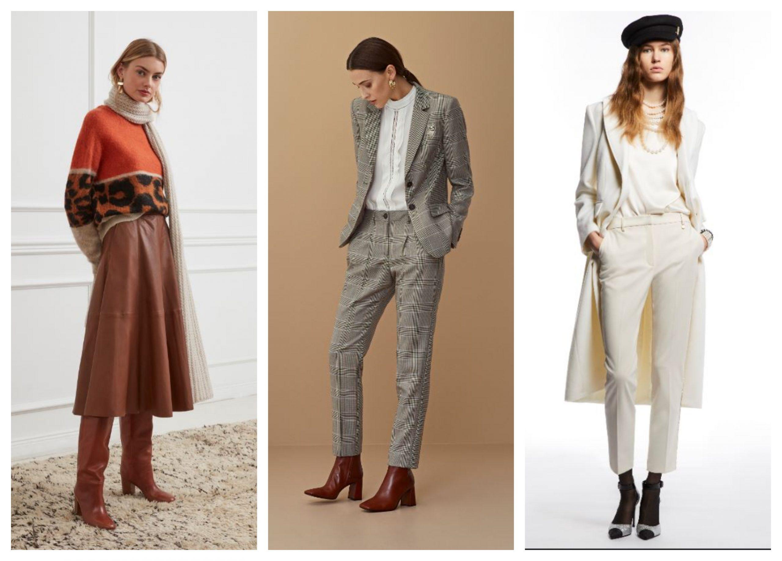 Temporada de moda invierno sorprende con contrastes llamativos