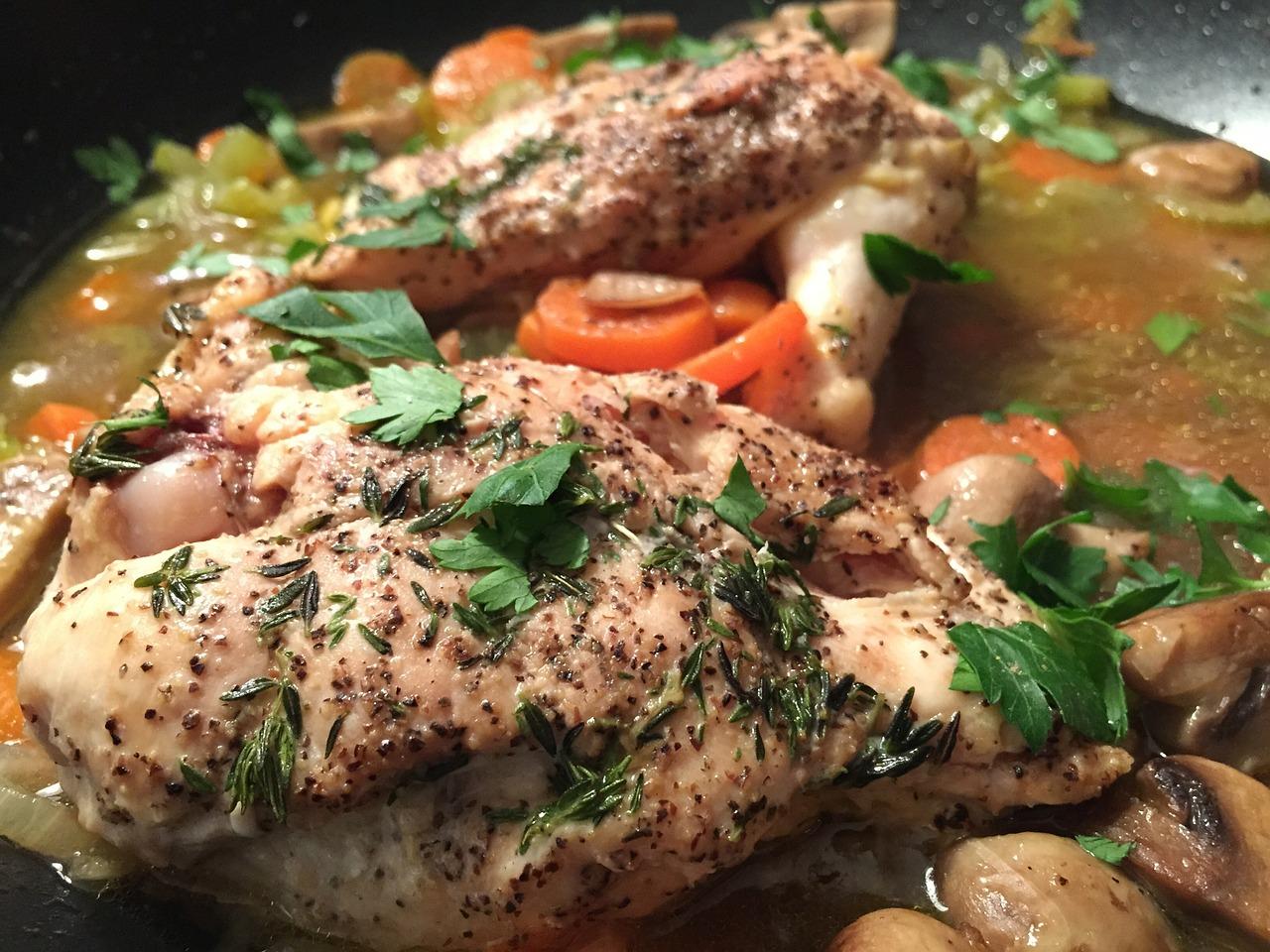 Prepara un delicioso  pollo con miel y naranja