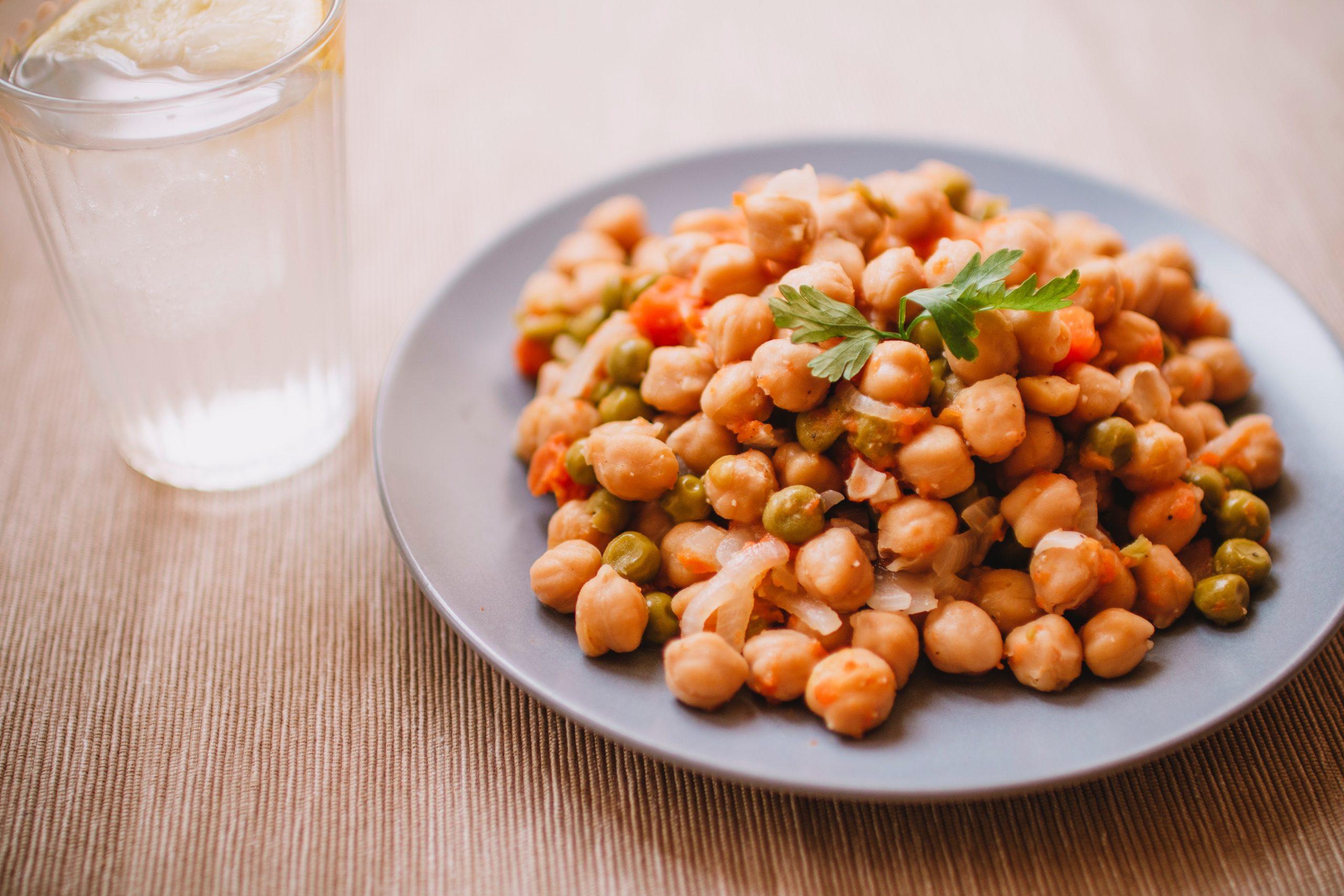 Prepara unos deliciosos garbanzos al curry