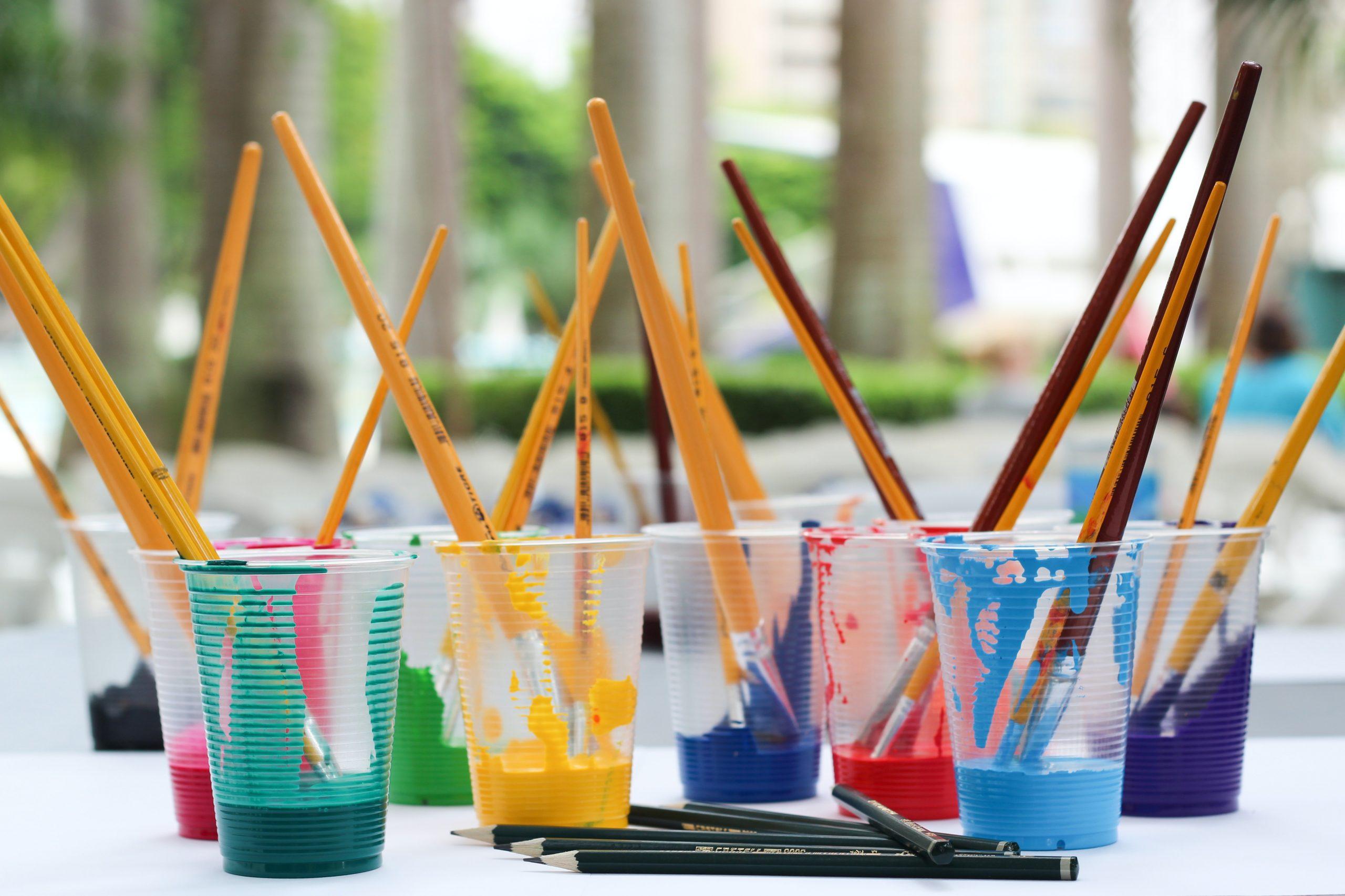 ¿Cómo influir a los niños en el arte?