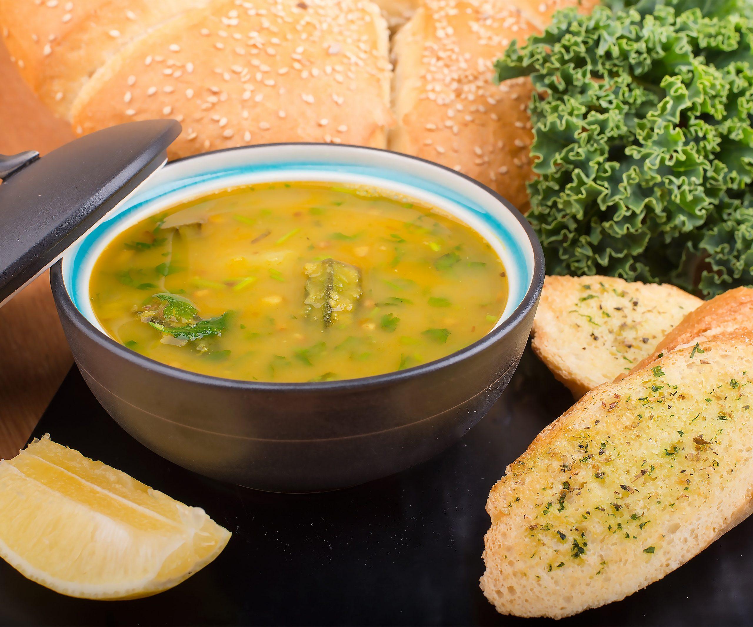 Prepara una deliciosa sopa de champiñones
