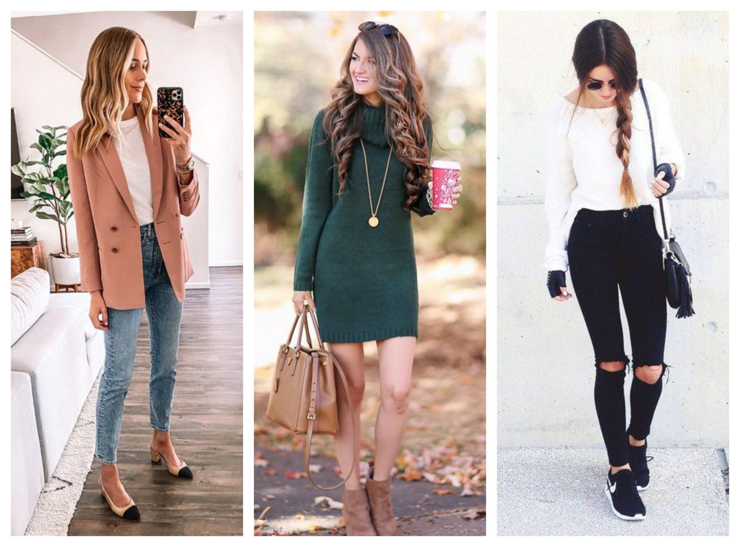 Ideas de outfits rápidos para ir al trabajo sin verte informal