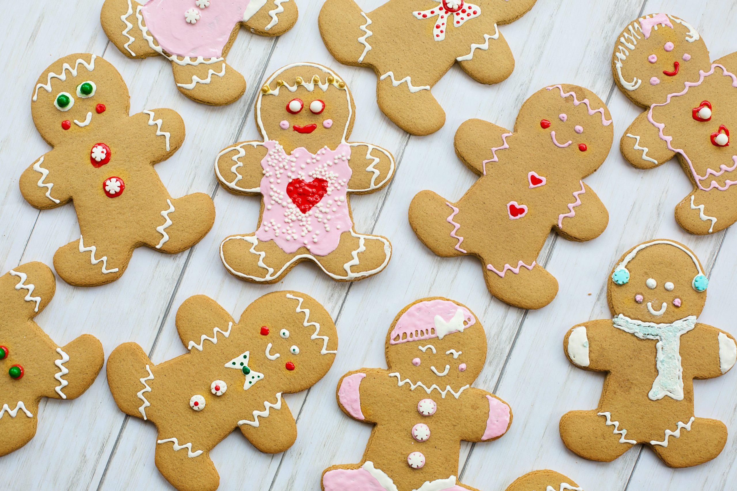 Prepara unas deliciosas galletas navideñas de jengibre sin gluten