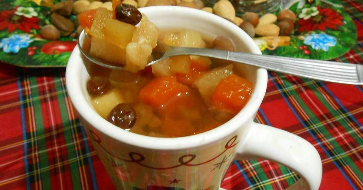 Receta del tradicional ponche de frutas