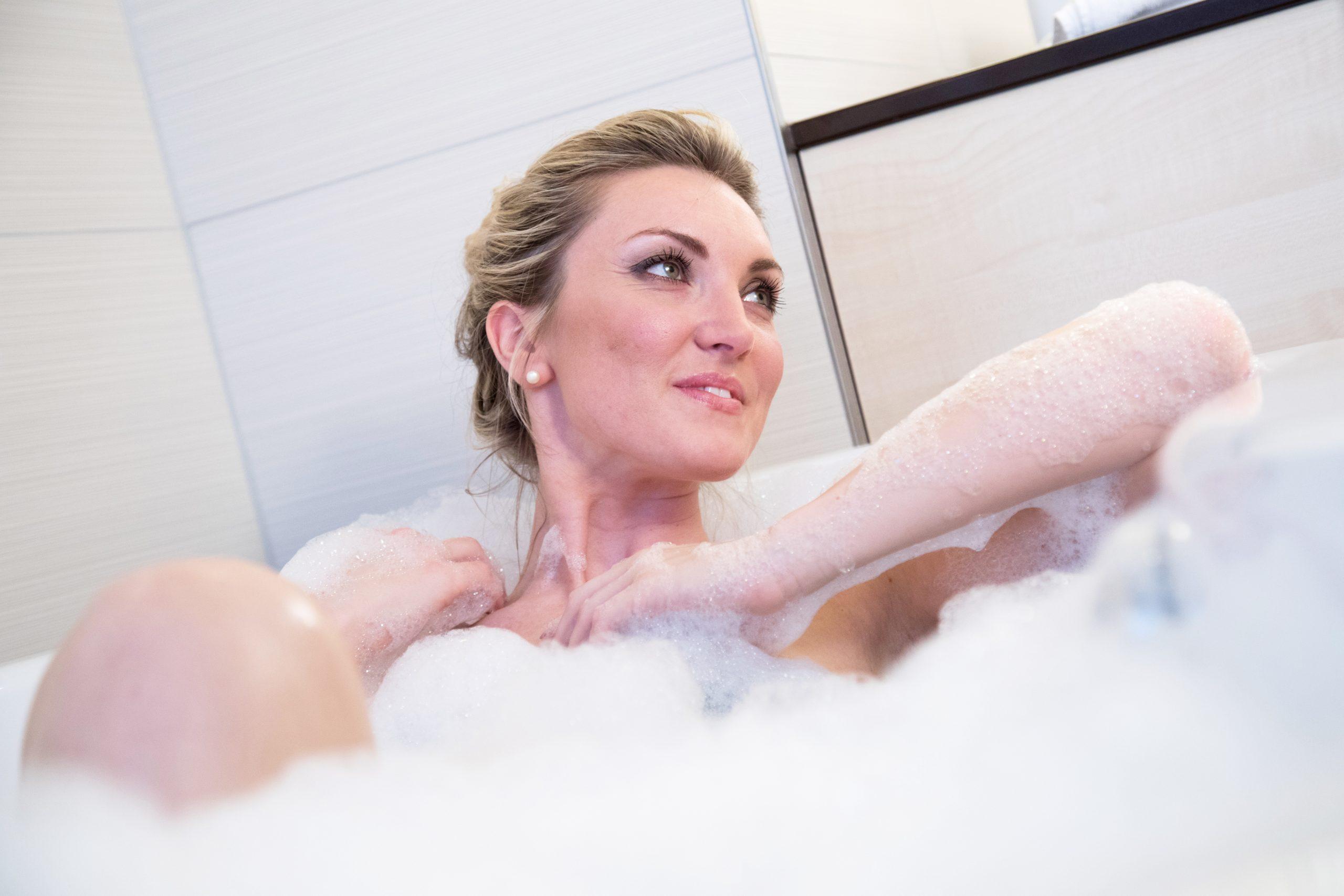 El baño de inmersión, una rutina beneficiosa para la salud
