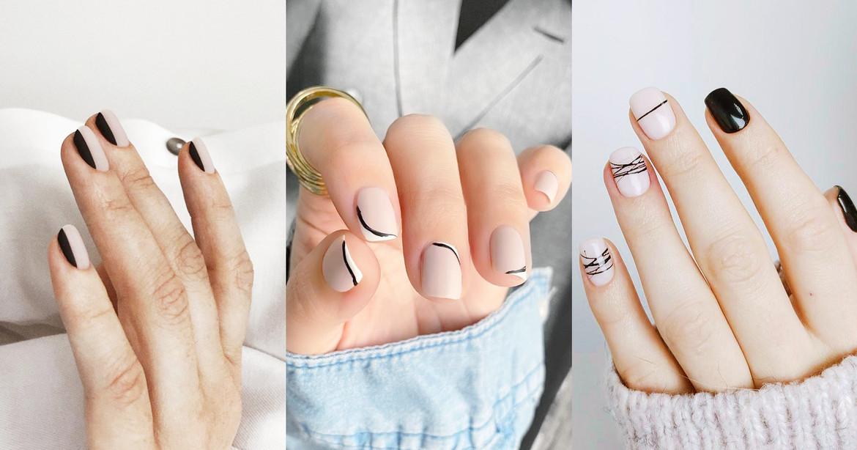 Diseños de uñas naturales para regresar a la oficina