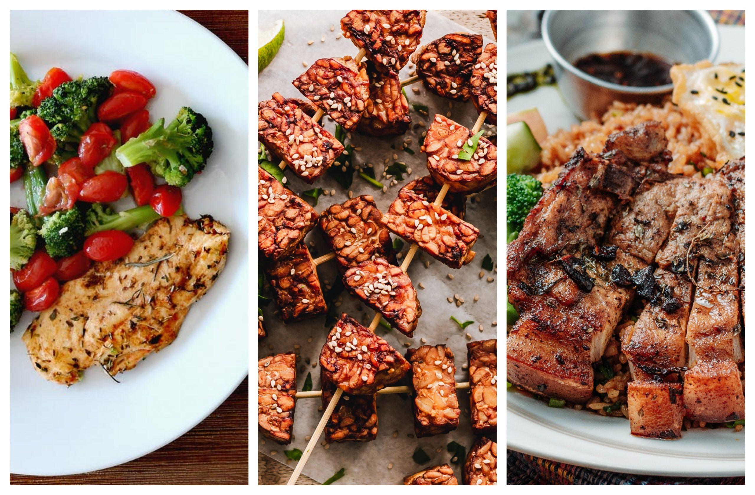 Cuatro recetas de almuerzos a la parrilla