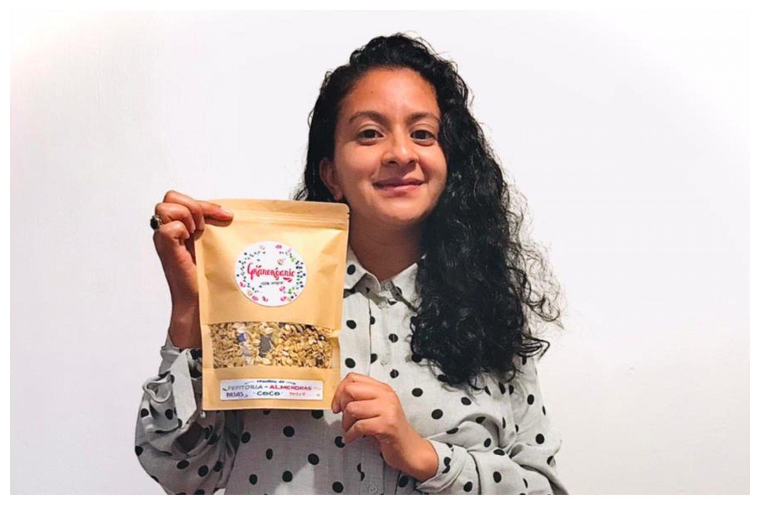 Conoce la historia de Lisbeth Robledo y su emprendimiento de granola