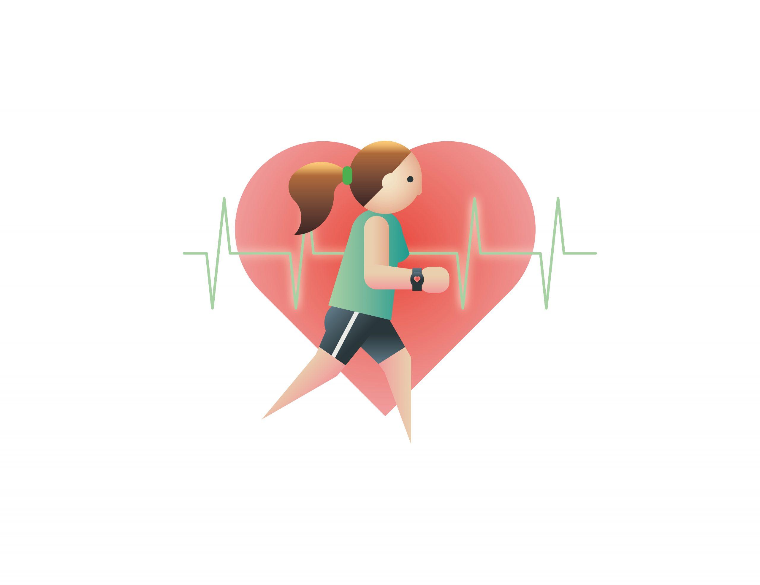 El corazón como indicador: así se entrena midiendo el pulso
