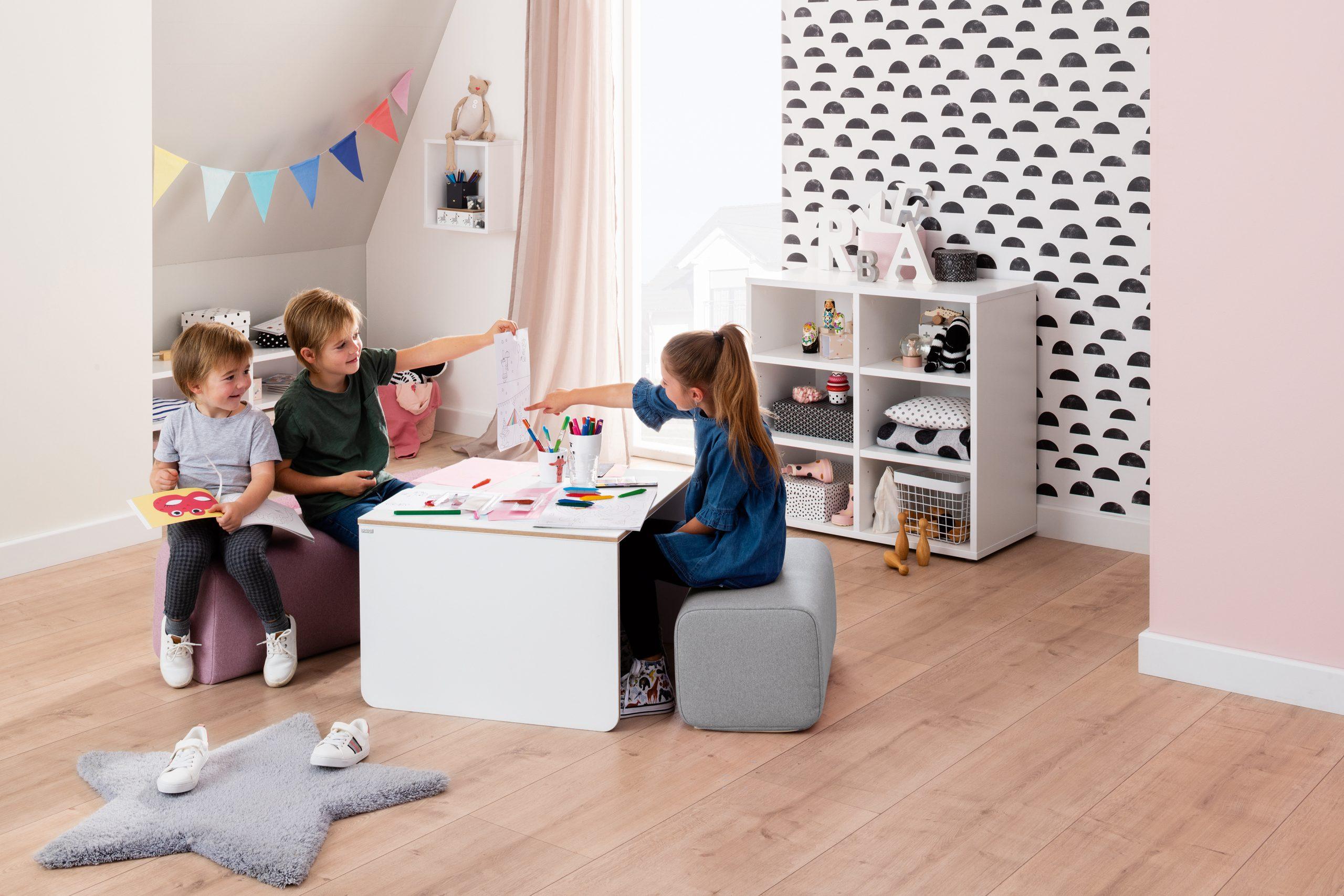 Muebles que fomentan la independencia de los niños