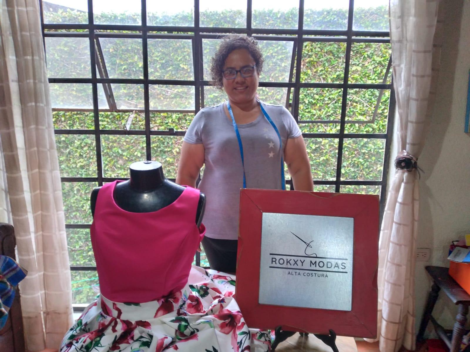 Conoce la historia de Roksanda Cojulun y su emprendimiento de moda