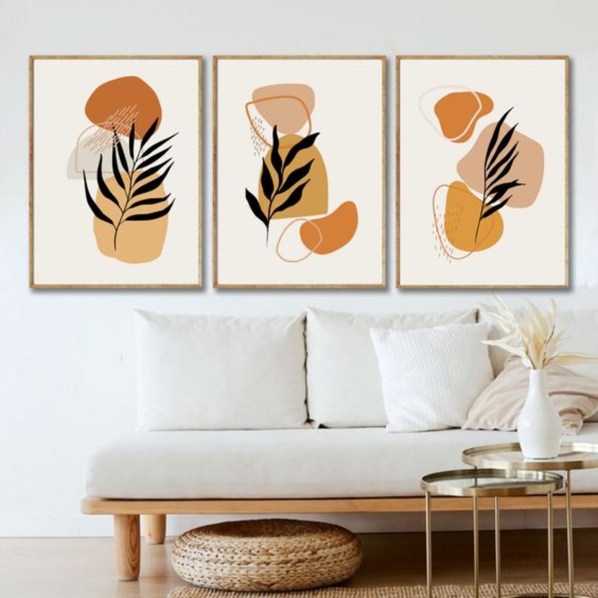 Consejos para decorar las paredes del hogar con cuadros