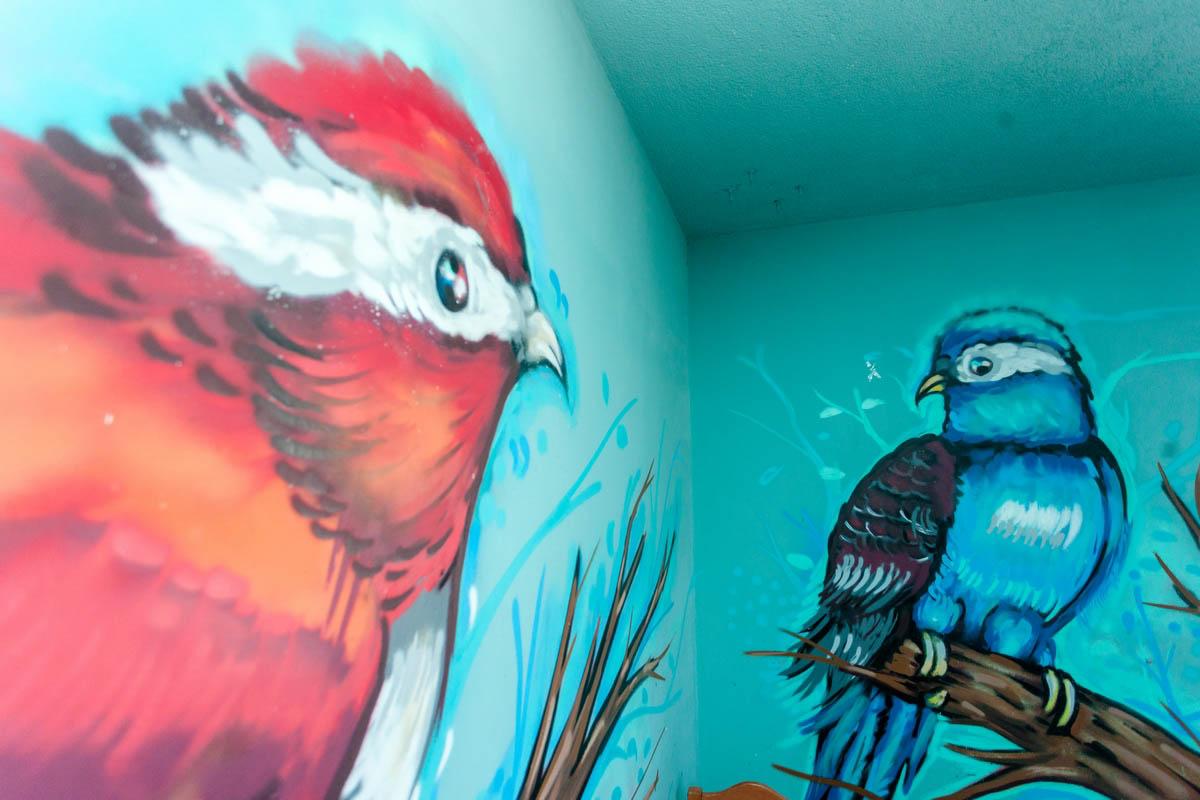 cuarto de los pájaros Ay Carmela
