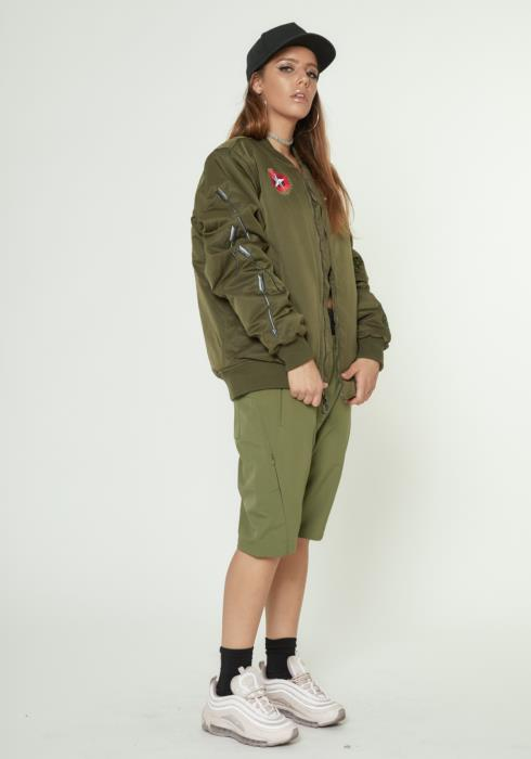 MA-1 Bomber Jacket with Embroidery