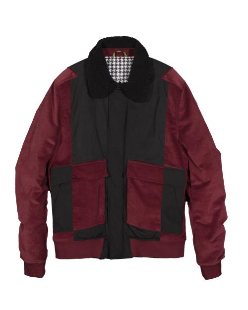 Konus MA-2 Bomber Jacket with Contrast Fabric Blocking