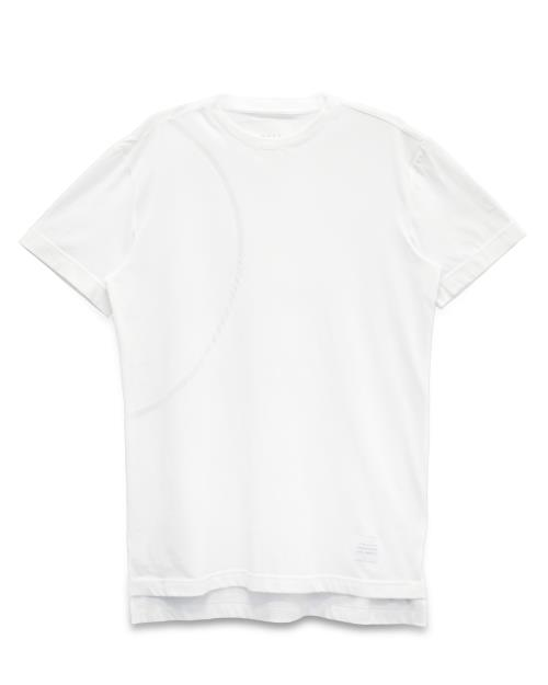 T-Shirt with Burn Out Circle