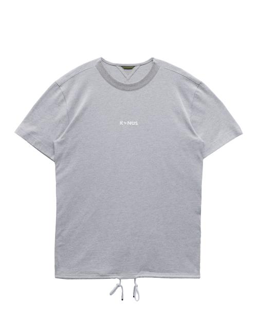 Short Sleeve Tee with Tape on Side Seam