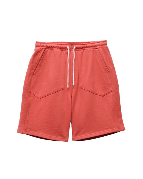 Konus Sweat Shorts with Reverse Fabris Stripes
