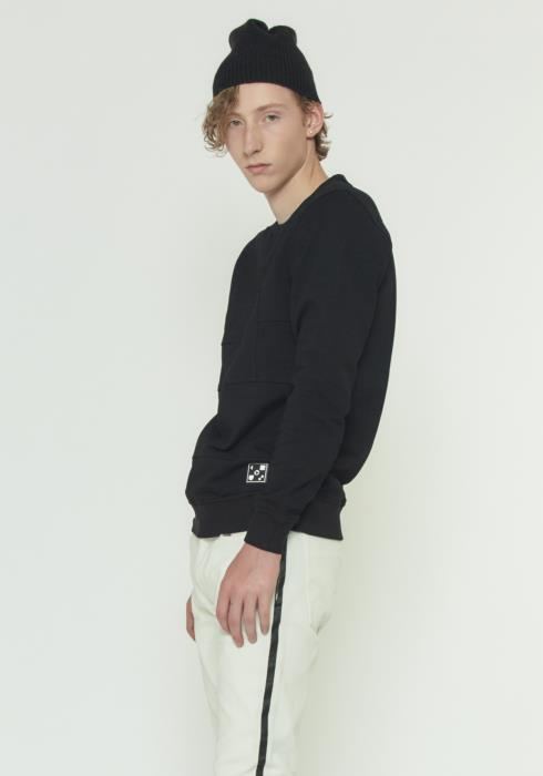 Konus Sweatshirt with Paneling on Front