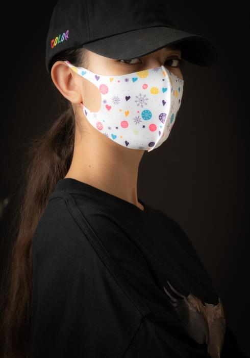 Konus Anti Bacterial Coldest Winter Print 3D Mask