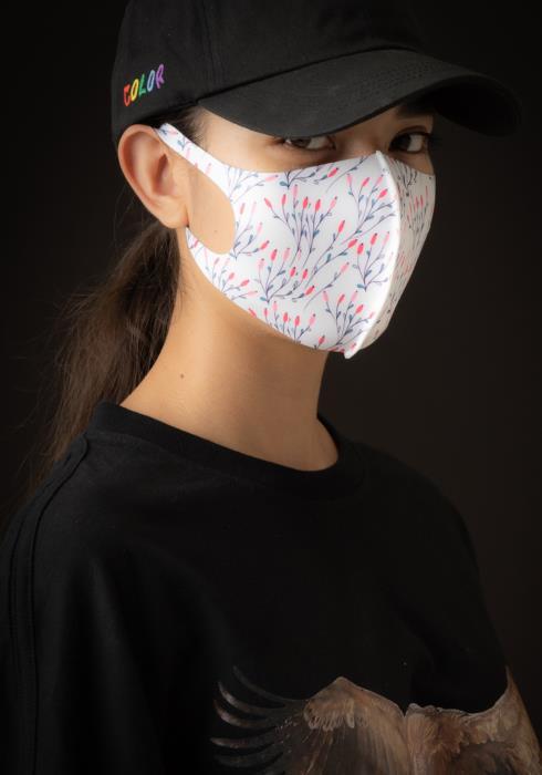 Konus Anti Bacterial Tulip Vines 3D Mask