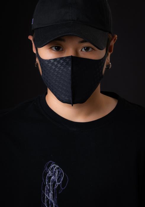 Konus Anti Bacterial Houndstooth 3D Mask