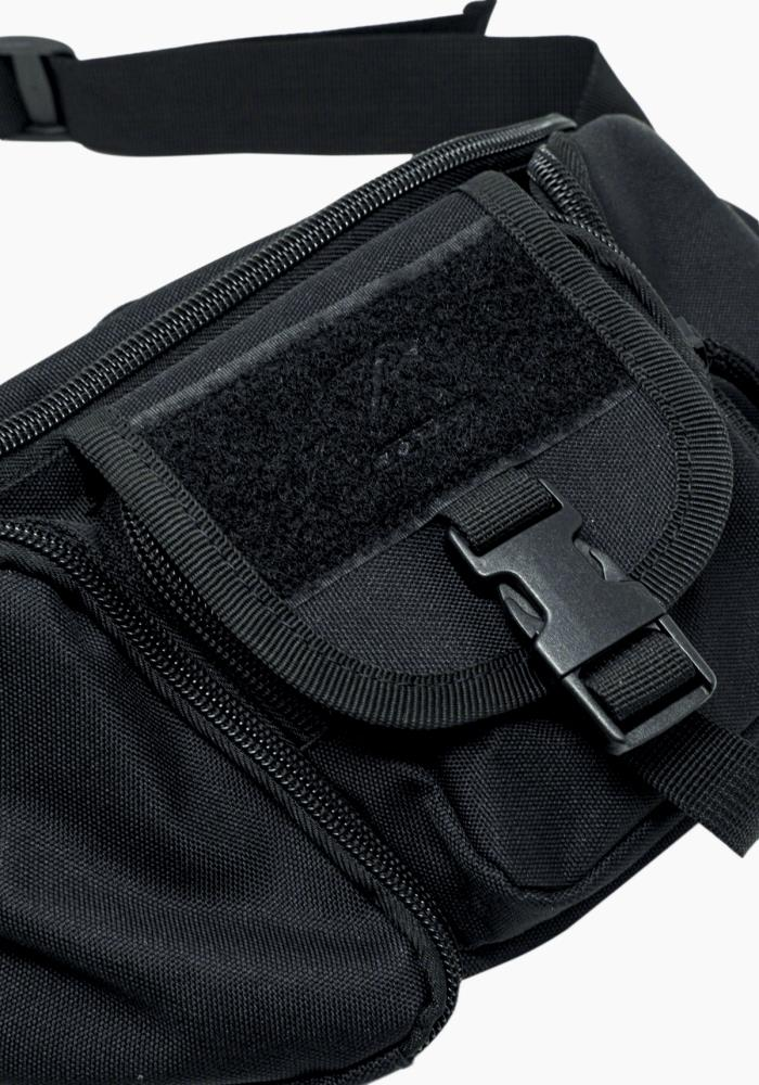 Tactical Concealed Carry Fanny Waist Pack CCW Bag Black 5 Pockets Rothco 4957