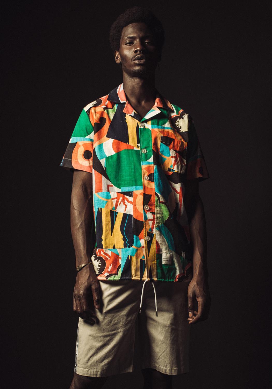 Konus Mens Revere Collar Shirt