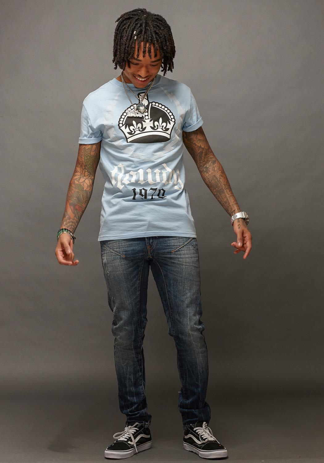 Rowdy Mens Graphic Tee