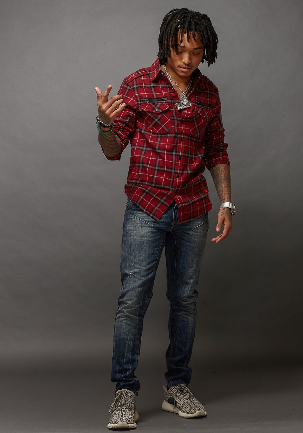 Rowdy Mens Button Up Flannel