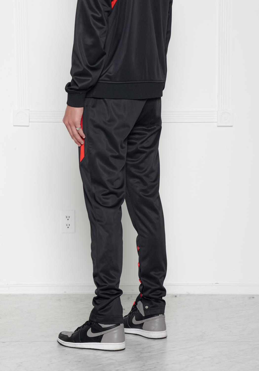 Blank State Mens Snap Track Pants