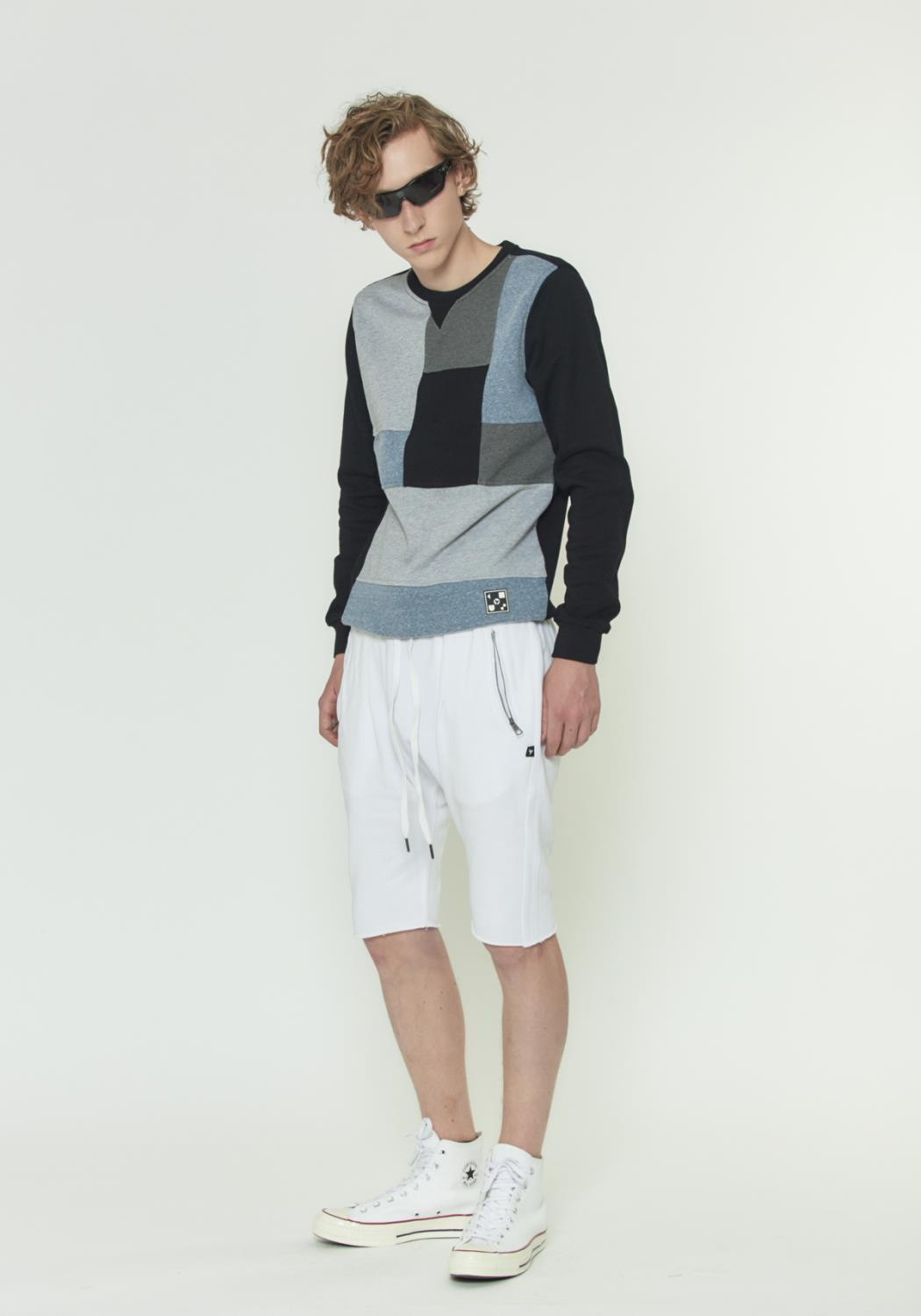 CUT OF FRENCH TERRY SHORTS